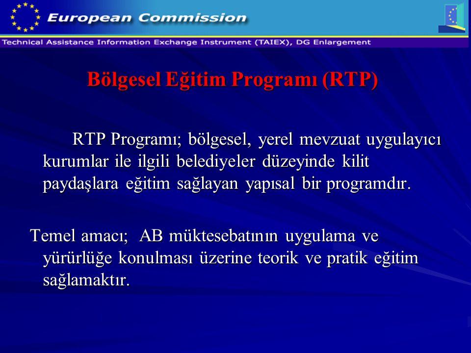 Bölgesel Eğitim Programı (RTP)