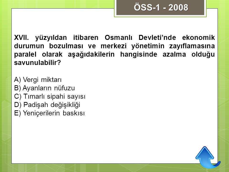 ÖSS-1 - 2008