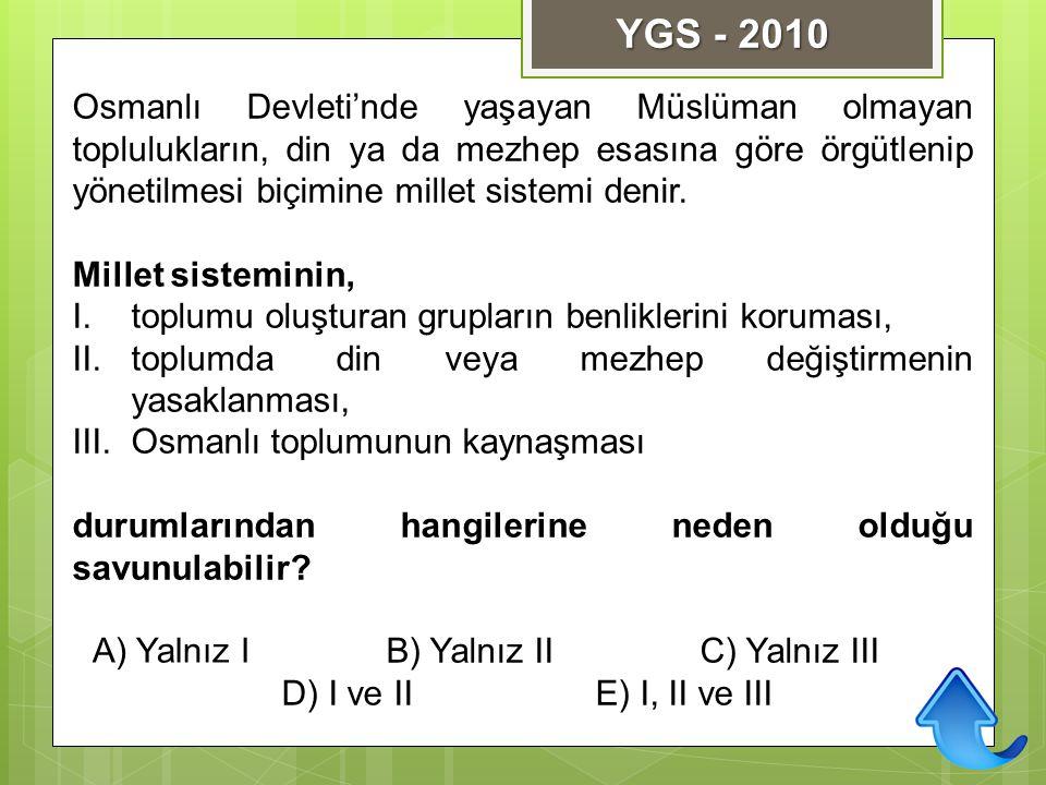 YGS - 2010