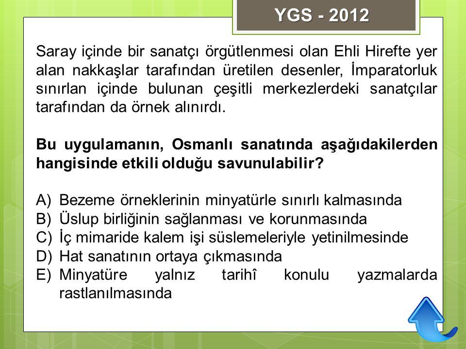 YGS - 2012