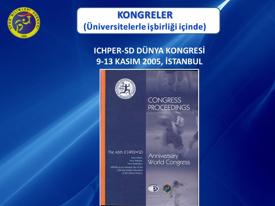 (Üniversitelerle işbirliği içinde) ICHPER-SD DÜNYA KONGRESİ