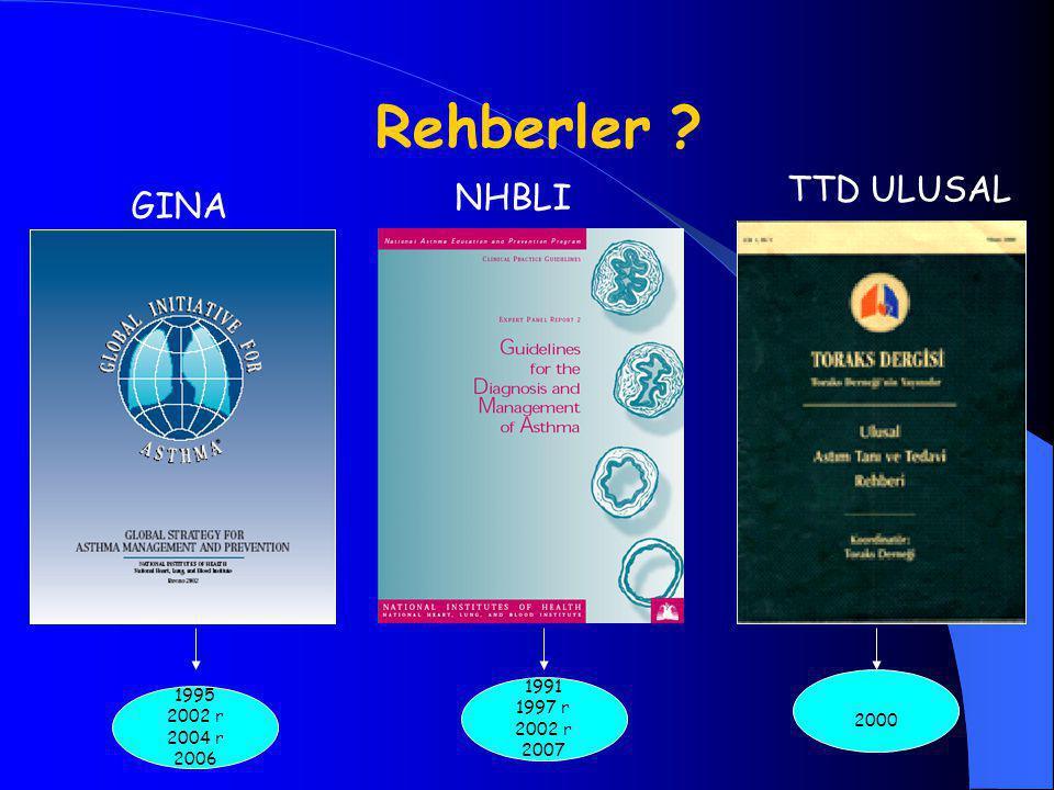 Rehberler TTD ULUSAL NHBLI GINA