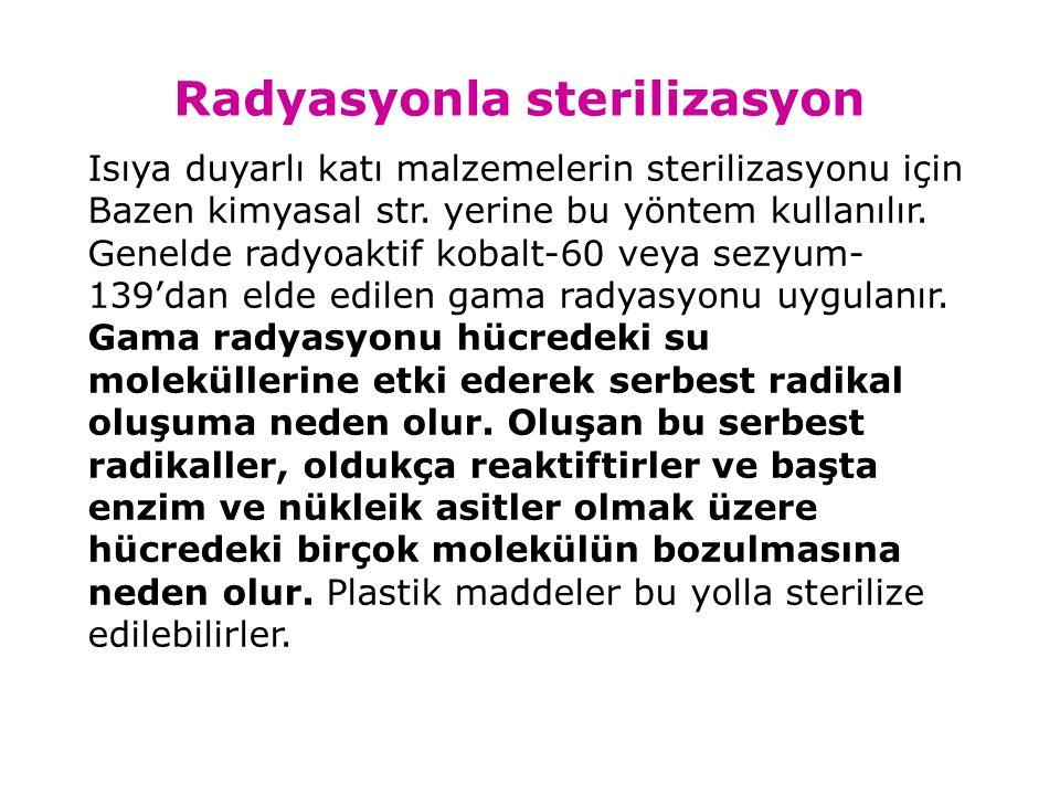 Radyasyonla sterilizasyon