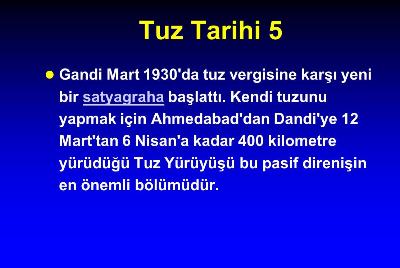 Tuz Tarihi 5