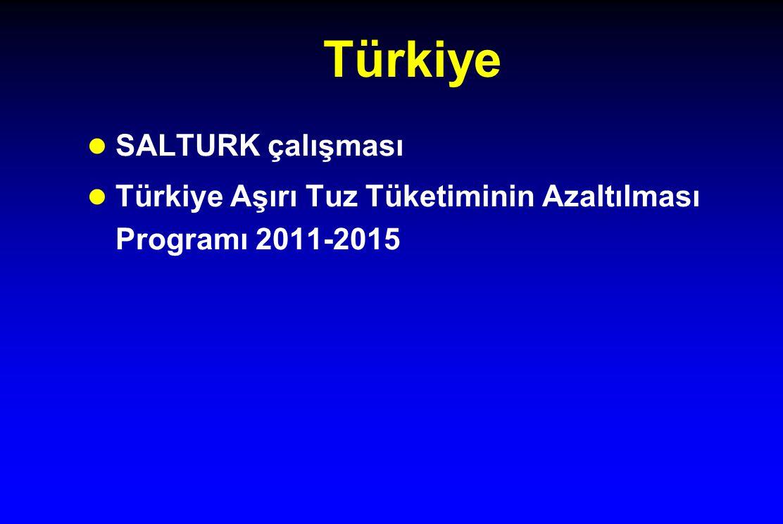 Türkiye SALTURK çalışması