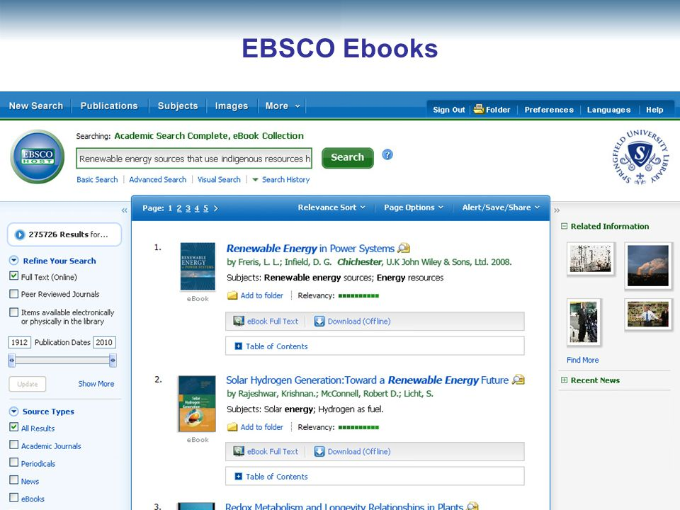 EBSCO Ebooks 36