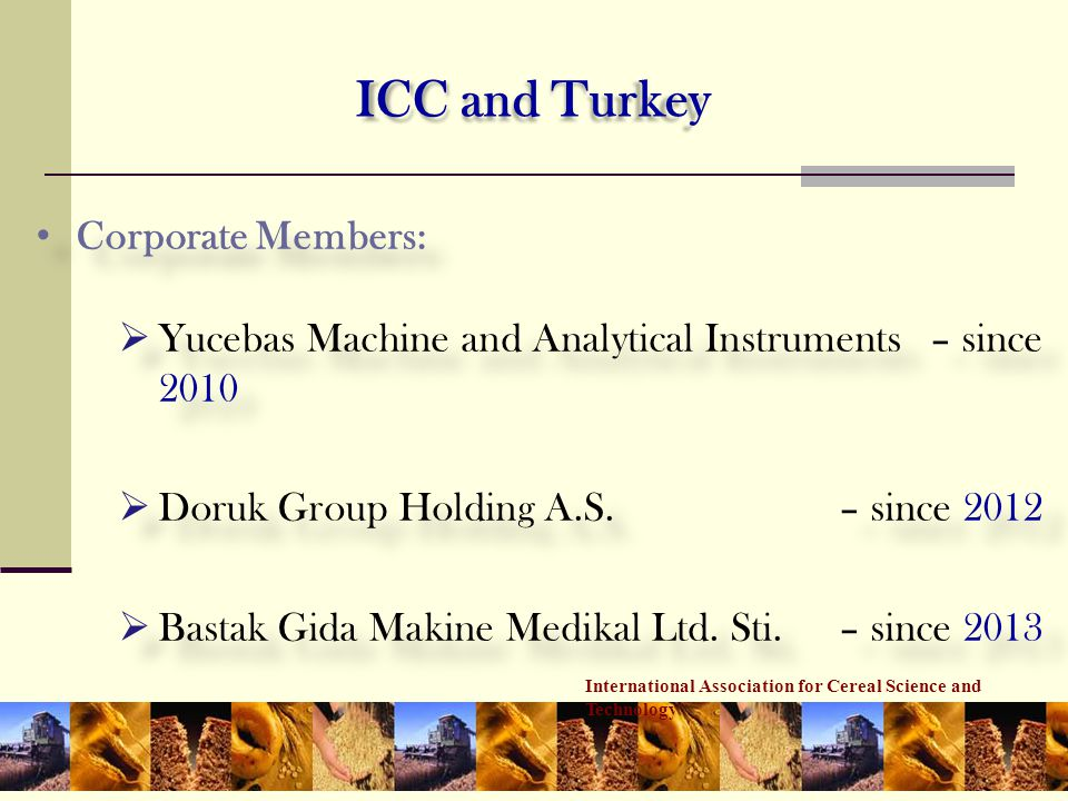 ICC and Turkey Corporate Members: