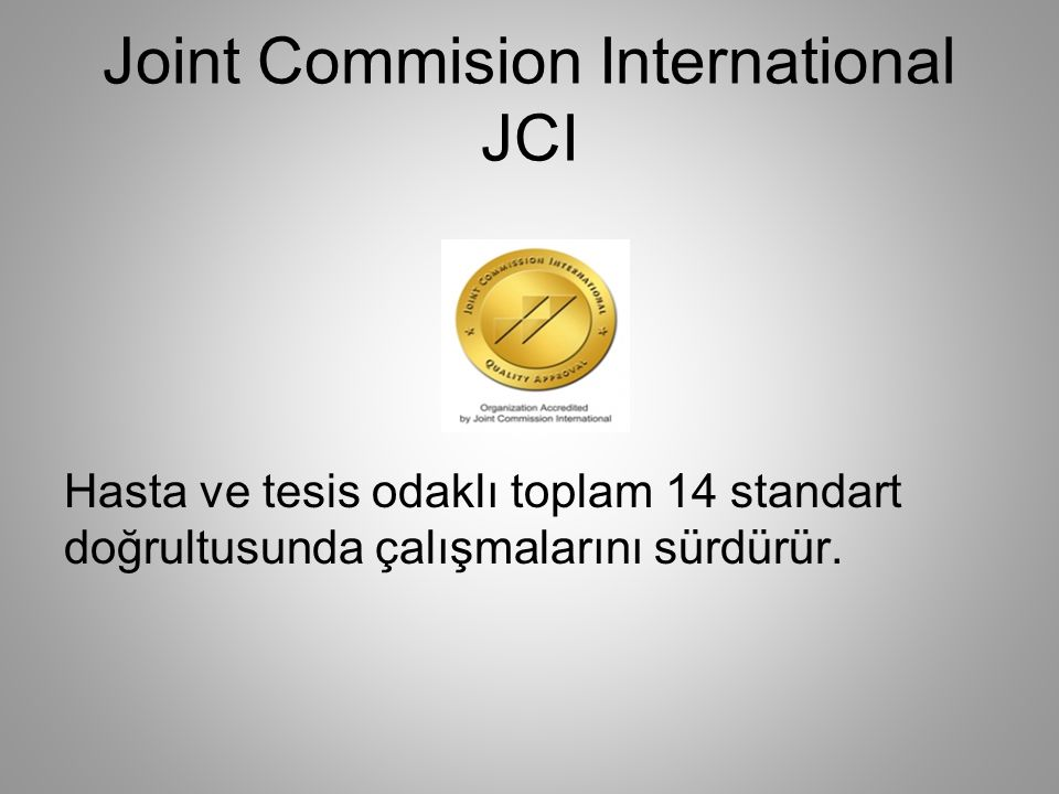 Joint Commision International JCI