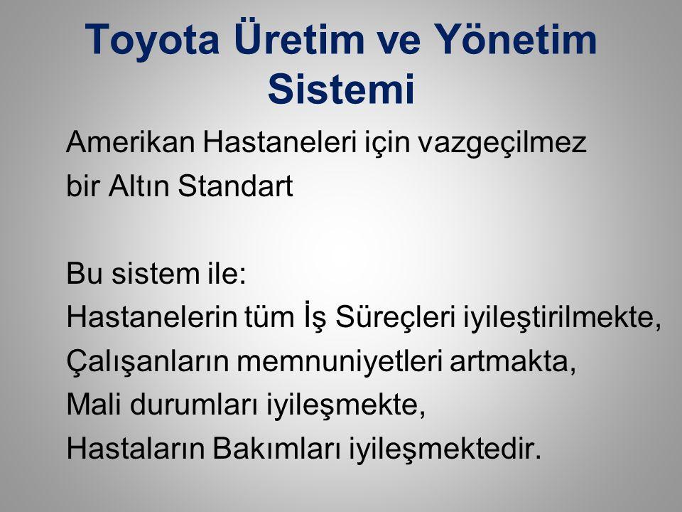 Toyota Üretim ve Yönetim Sistemi
