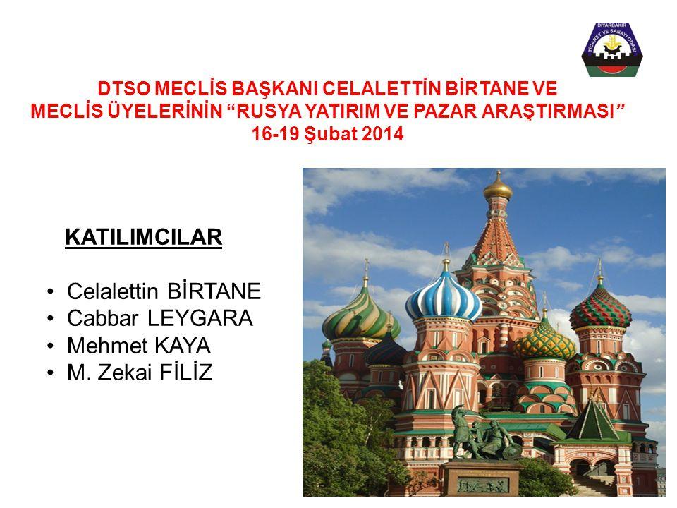 KATILIMCILAR Celalettin BİRTANE Cabbar LEYGARA Mehmet KAYA