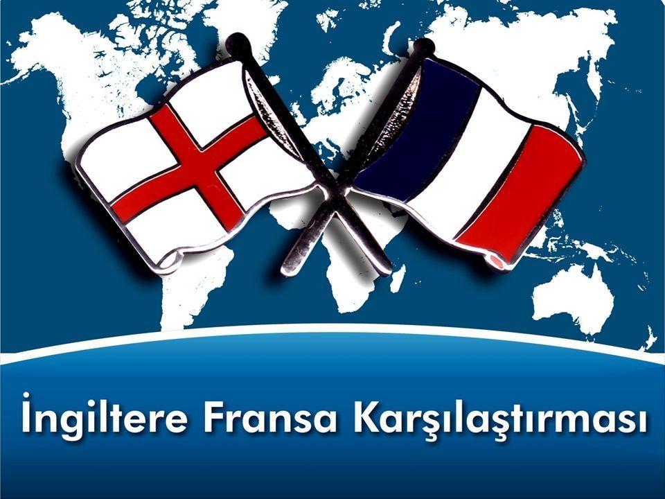 İngiltere Fransa Karşılaştırması