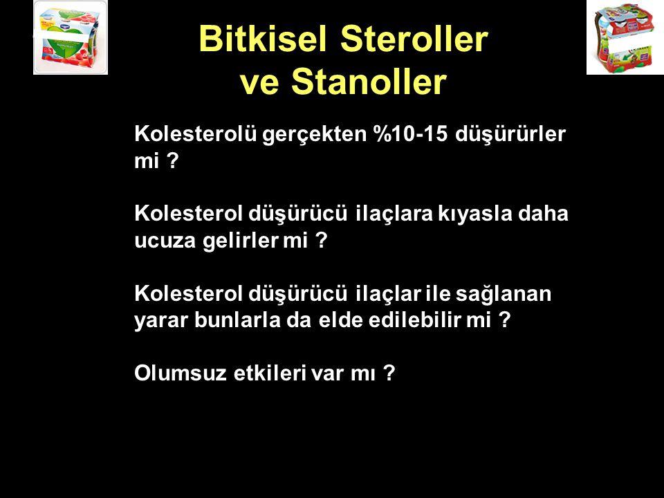 Bitkisel Steroller ve Stanoller