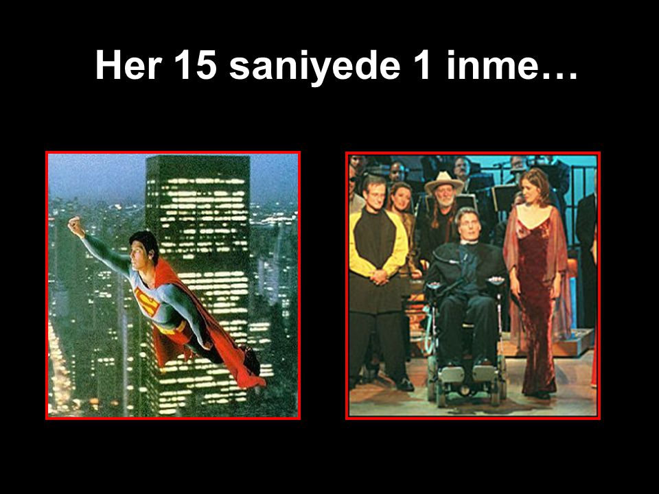 Her 15 saniyede 1 inme…