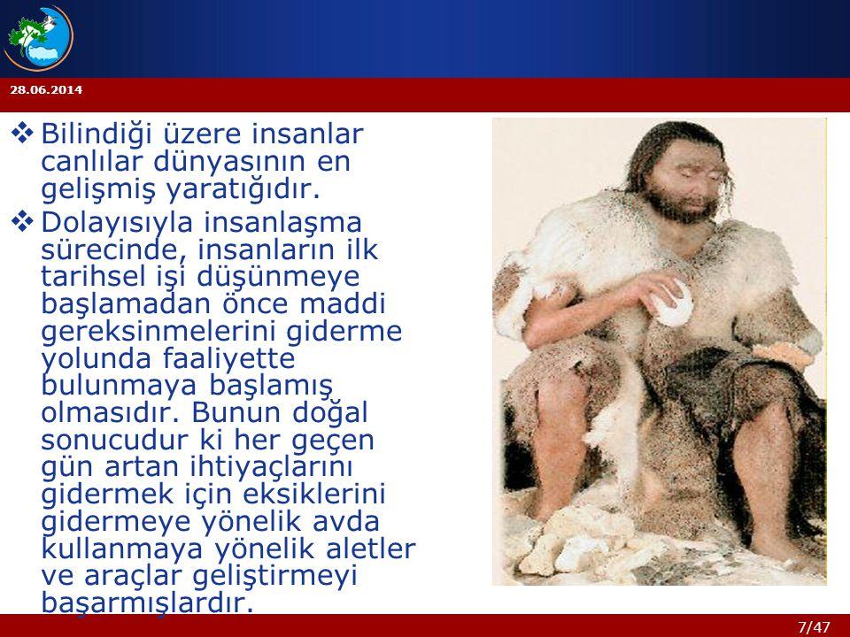 Bilindiği üzere insanlar canlılar dünyasının en gelişmiş yaratığıdır.