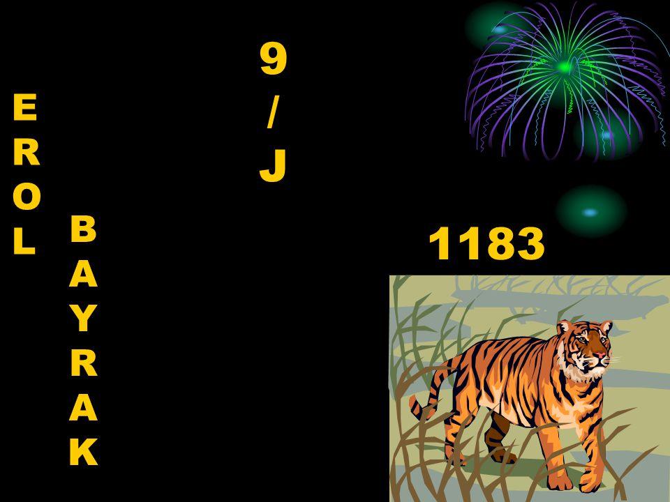 9 / J E R O L B A Y R K 1183