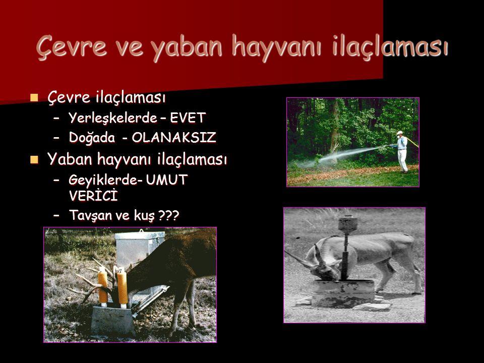 Çevre ve yaban hayvanı ilaçlaması