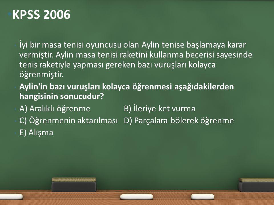 KPSS 2006