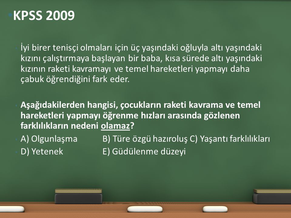 KPSS 2009