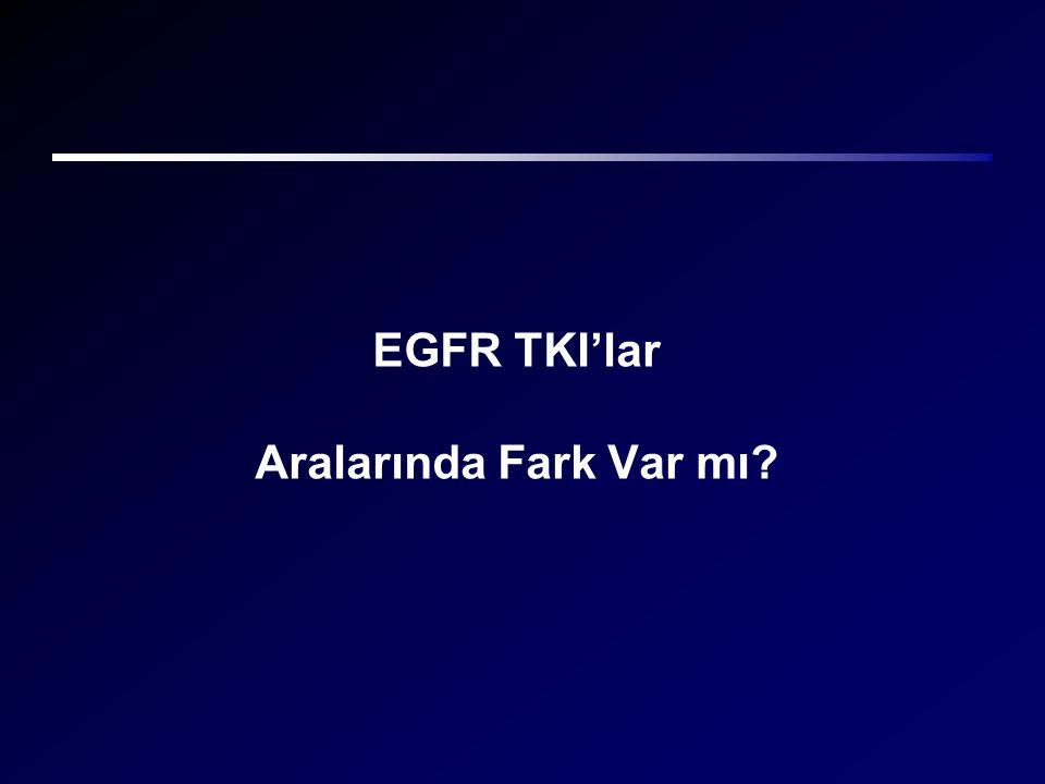EGFR TKI'lar Aralarında Fark Var mı