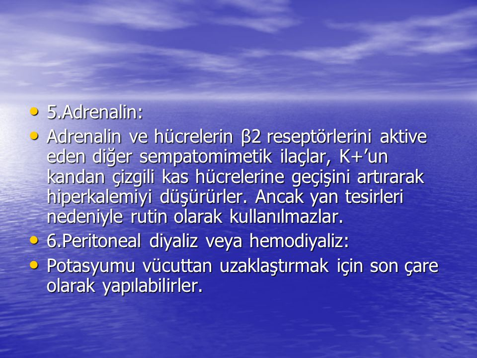 5.Adrenalin: