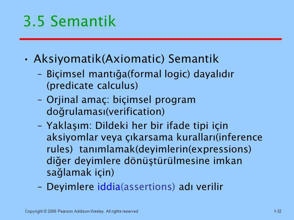 3.5 Semantik Aksiyomatik(Axiomatic) Semantik