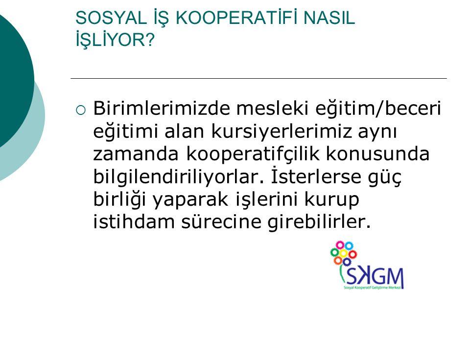 SOSYAL İŞ KOOPERATİFİ
