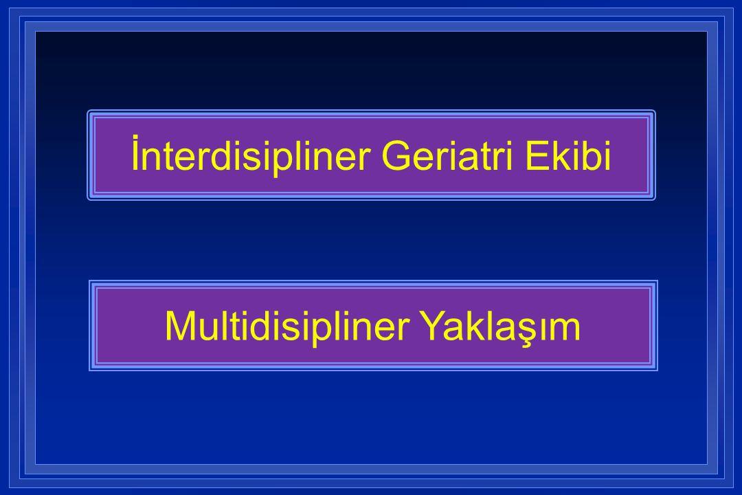 İnterdisipliner Geriatri Ekibi