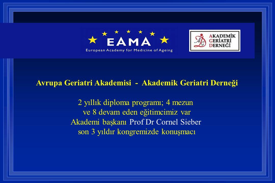 Avrupa Geriatri Akademisi - Akademik Geriatri Derneği