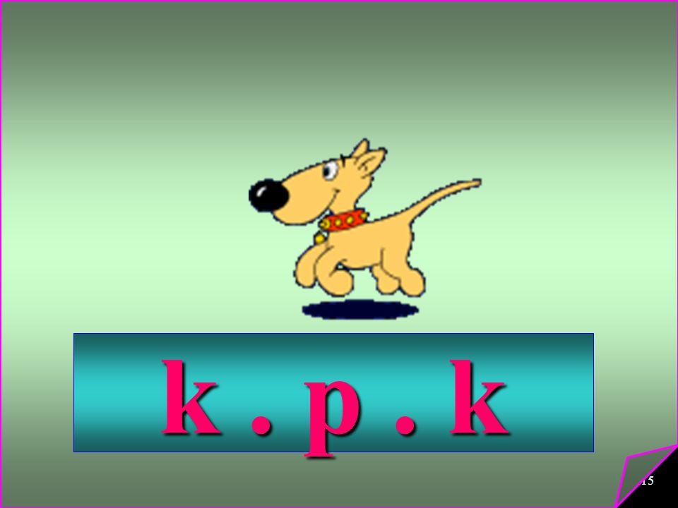k . p . k