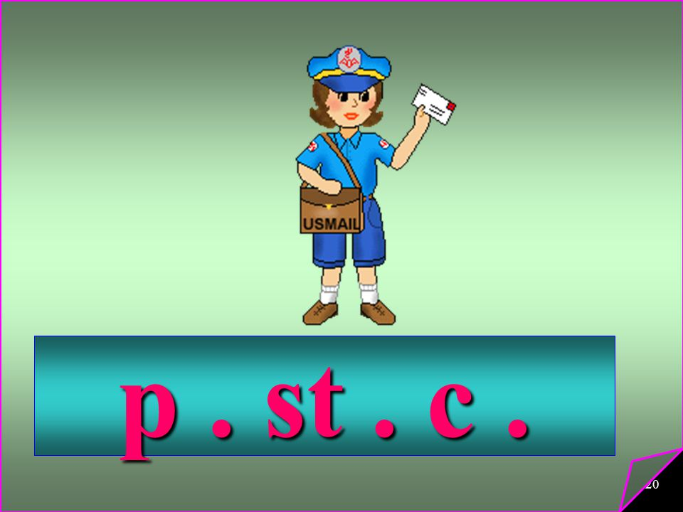p . st . c .