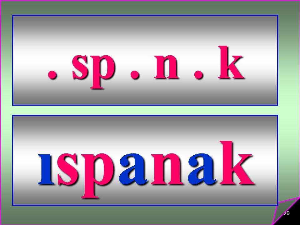 . sp . n . k ıspanak