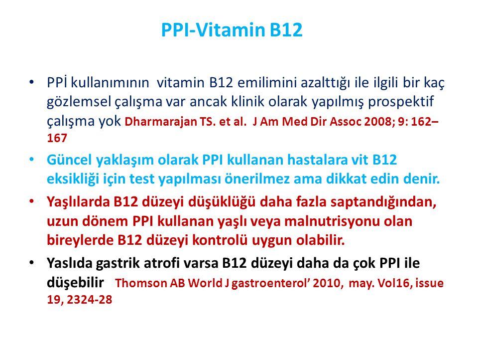 PPI-Vitamin B12