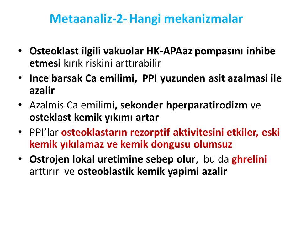 Metaanaliz-2- Hangi mekanizmalar