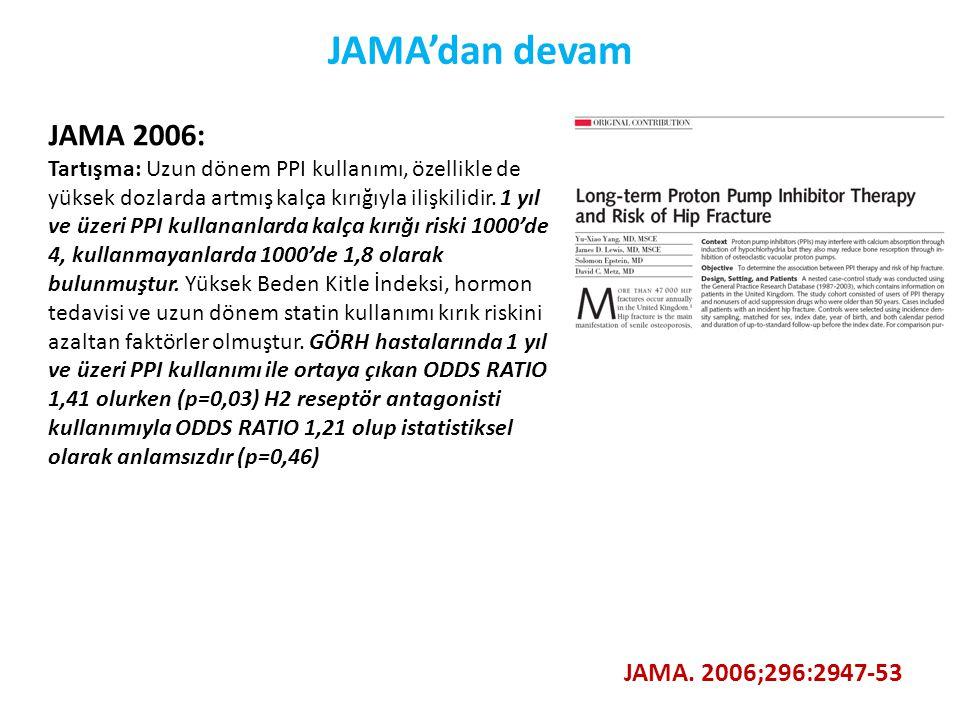 JAMA'dan devam JAMA 2006: JAMA. 2006;296:2947-53