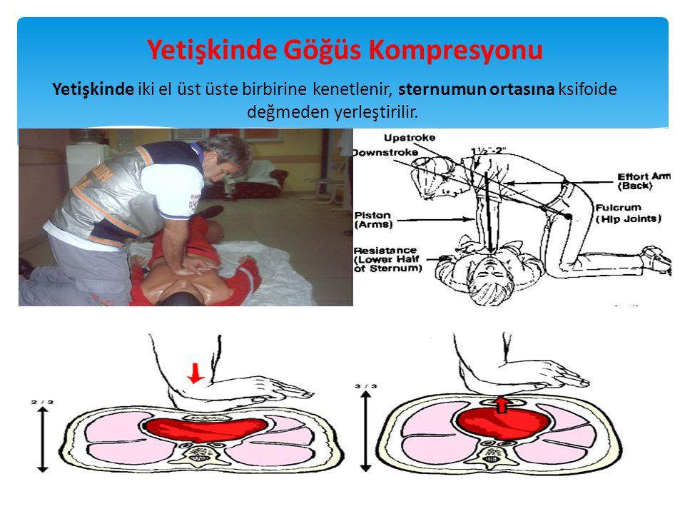 Yetişkinde Göğüs Kompresyonu