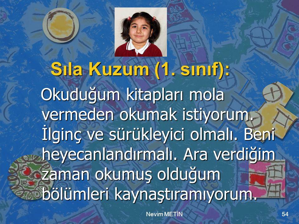Sıla Kuzum (1. sınıf):
