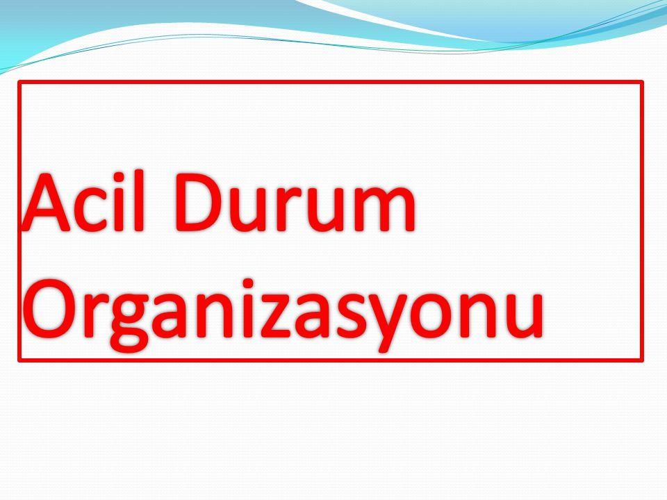 Acil Durum Organizasyonu