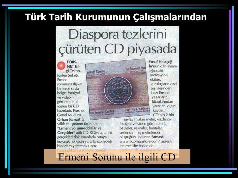 Türk Tarih Kurumunun Çalışmalarından