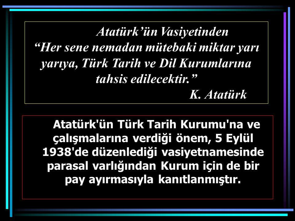 Atatürk'ün Vasiyetinden