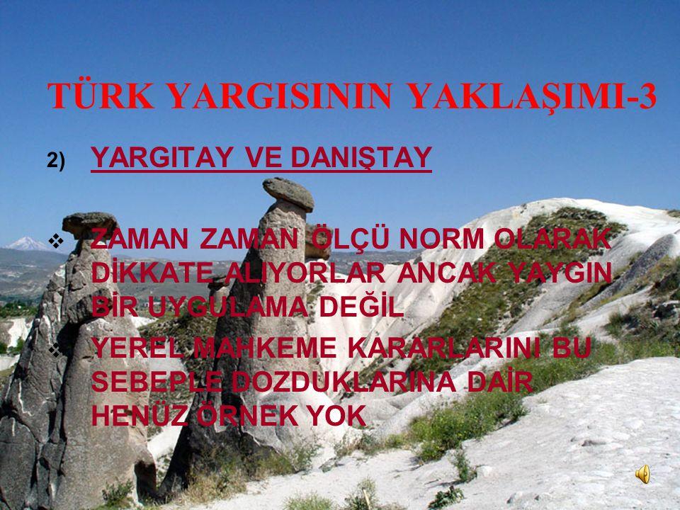 TÜRK YARGISININ YAKLAŞIMI-3