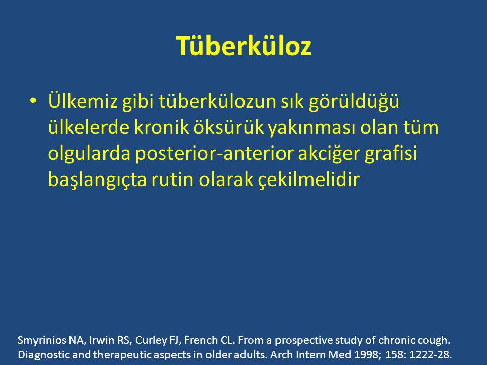 Tüberküloz