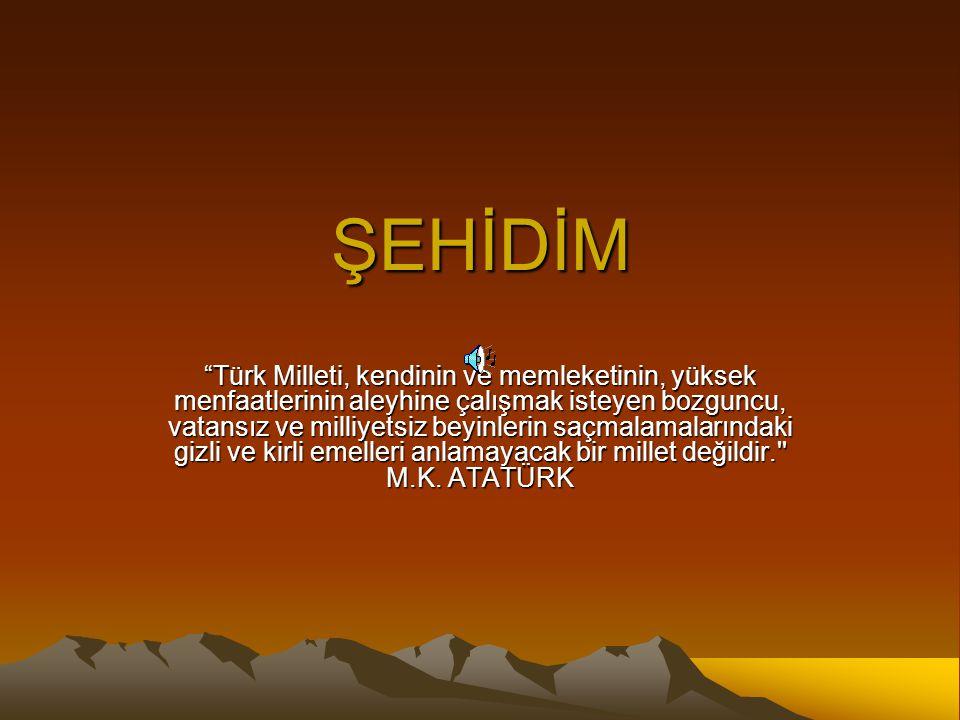 ŞEHİDİM