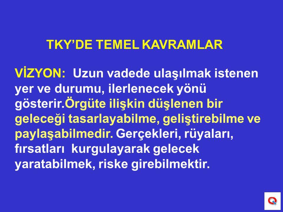 TKY'DE TEMEL KAVRAMLAR