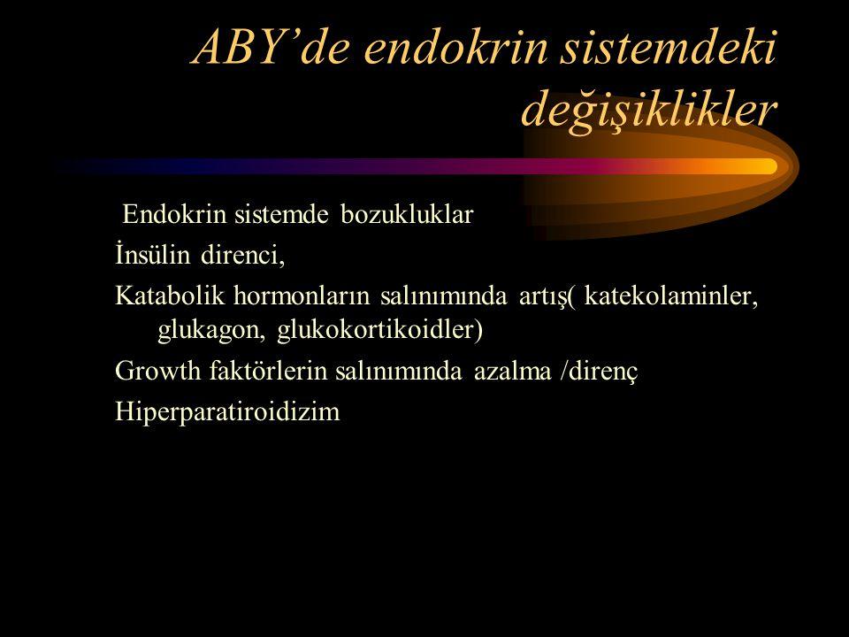 ABY'de endokrin sistemdeki değişiklikler