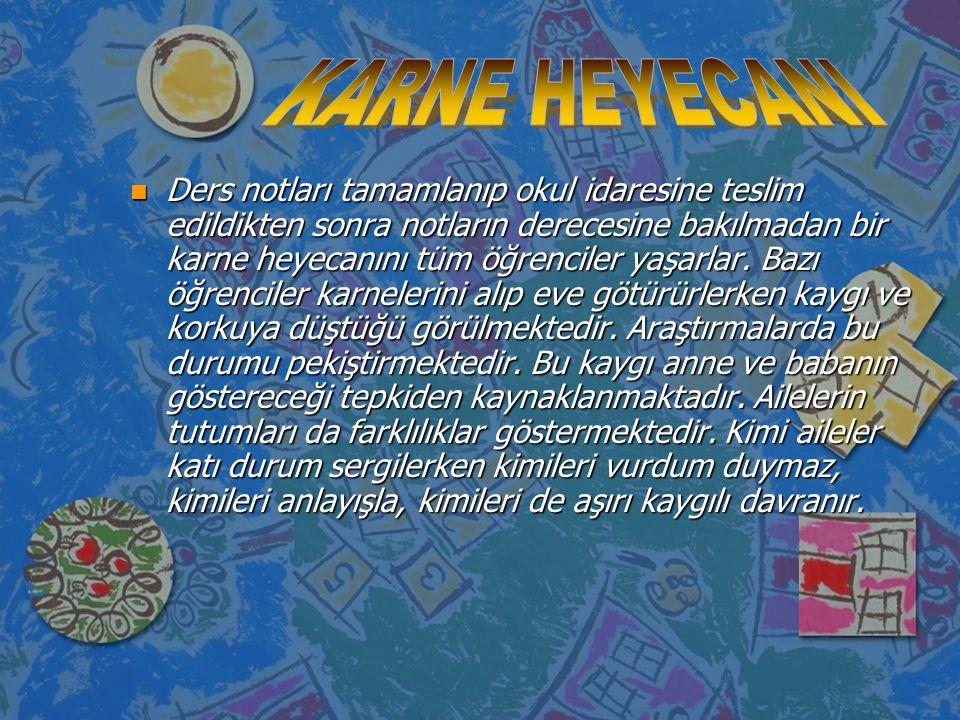 KARNE HEYECANI