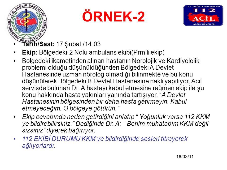 ÖRNEK-2 Tarih/Saat: 17 Şubat /14.03