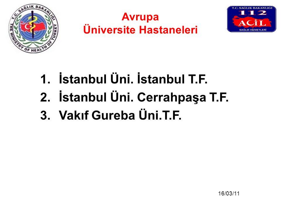 Avrupa Üniversite Hastaneleri
