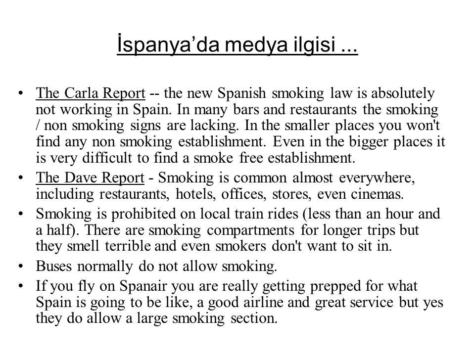 İspanya'da medya ilgisi ...