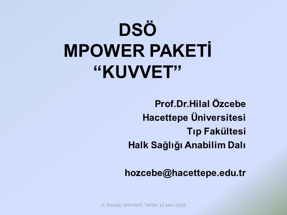 DSÖ MPOWER PAKETİ KUVVET