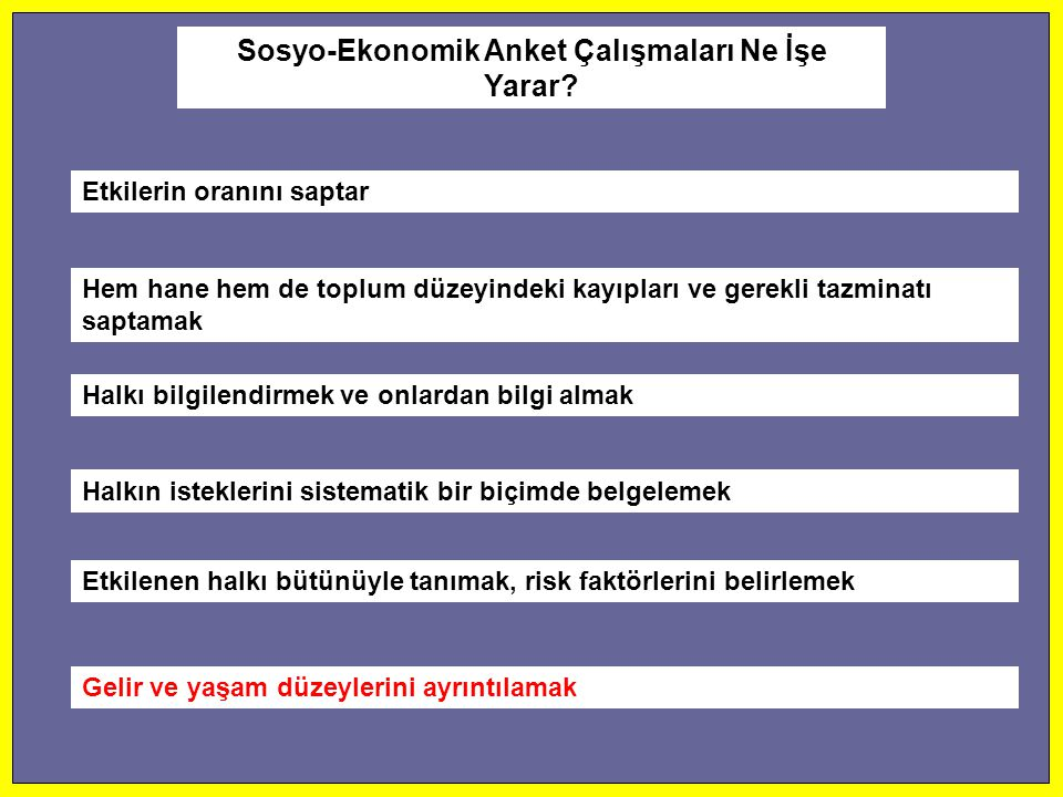 Sosyo-Ekonomik Anket Çalışmaları Ne İşe Yarar